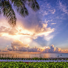 Palm Beach at Sunrise by Debra and Dave Vanderlaan