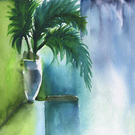 Frank Bright - Palm Still Life Abstract
