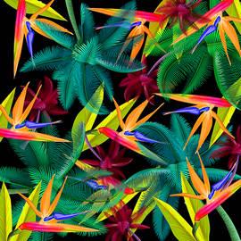 Palm tree 4 by Mark Ashkenazi
