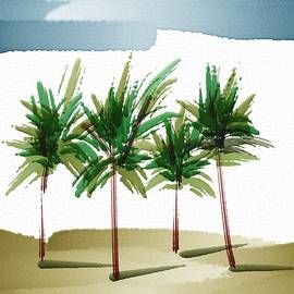 Frank Bright - Palm Trees 2
