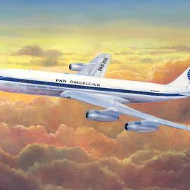 Pan American 707 by Douglas Castleman