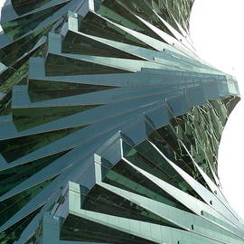 Glass Tower in Panama City by Aline Halle-Gilbert