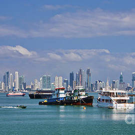 Panama City Panama skyline by Tatiana Travelways