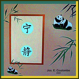 Pandas in Love by Joseph Coulombe