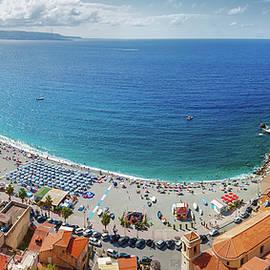 Natalia Macheda - Panorama of Scilla coast