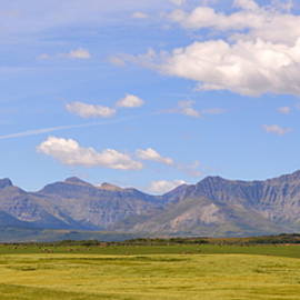 Ed Mosier - Panorama of the Rockies