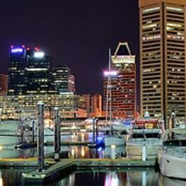 Frozen in Time Fine Art Photography - Panoramic Baltimore