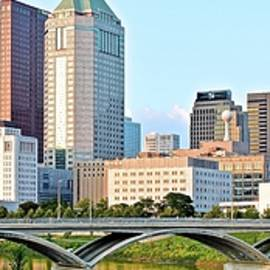 Skyline Photos of America - Panoramic Columbus Ohio