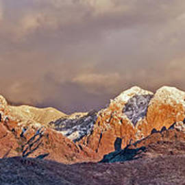 Panoramic Organ Mountainss by Stephen Whalen