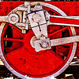 Alexander Senin - Panoramic Vintage Steam Train Wheels