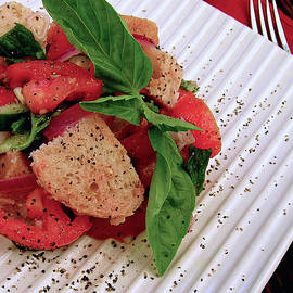 Panzanella - Italian Bread Salad by James Temple