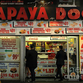Papaya Dog - Restaurants of New York City by Miriam Danar