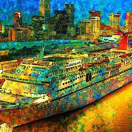 Paradise Boat by Mario Carini