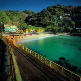 Paraggi Bay Beach And Portofino Park by Enrico Pelos