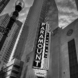 Paramount Theatre - Boston Theatre District by Joann Vitali