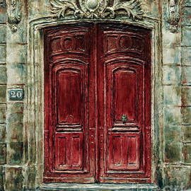 Parisian Door No. 20 by Joey Agbayani