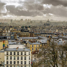 Pablo Lopez - Paris as Seen from the Sacre-Coeur