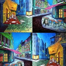 Irving Starr - Paris Cafe Scene