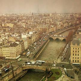 Paris Cityscape by Joan Carroll