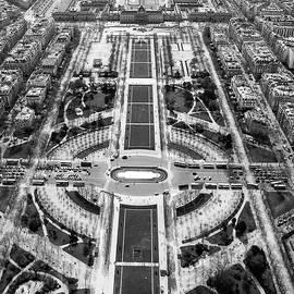 Paris from above by Robert Baker