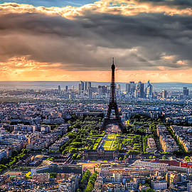 Paris from Above by Tim Stanley