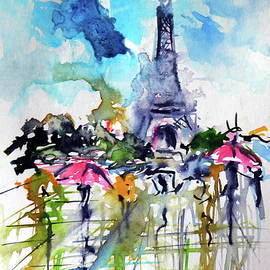 Paris in rain III - Kovacs Anna Brigitta