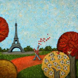 Paris Je t aime by Graciela Bello