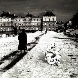 Paris Luxembourg Garden. by Cyril Jayant