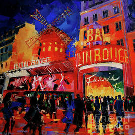 Mona Edulesco - PARIS NIGHTS by Mona Edulesco
