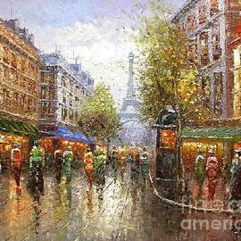 Paris Once Upon A Time by Rosario Piazza
