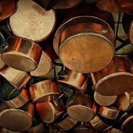 Paris Pots And Pans by Toni Abdnour