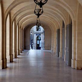 Paris Sidewalk by Michael Riley