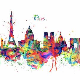 Paris Skyline 2 by Marian Voicu