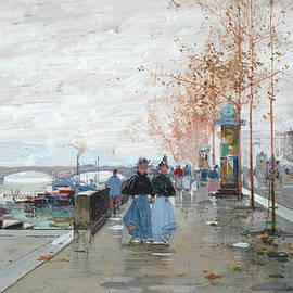 Eugene Galien-Laloue - Paris, The Quays of the Seine