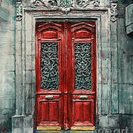 Parisian Door No. 33 by Joey Agbayani