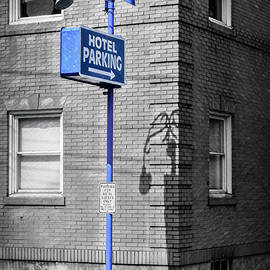 Parking In The Blue by Jim Love
