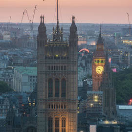 Parliament Closeup Sunset - Mike Reid