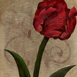 Parrot Tulip II by April Moen