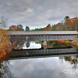 Parsonsfield - Porter Covered Bridge by Steve Brown