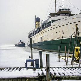 Randall Nyhof - Passenger Liner SS Keewatin in Winter Dock