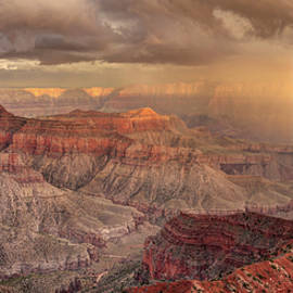 Pierre Leclerc Photography - Passing storm in the Grand Canyon