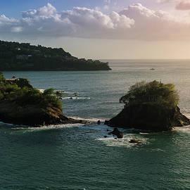 John Marshall - Pastel Caribbean Sunset
