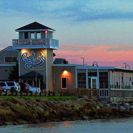 Pastel Evening At The Crab Shack  by Ola Allen