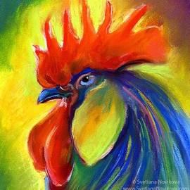 Pastel Rooster By Svetlana Novikova (