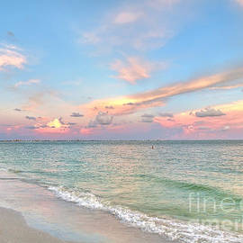 Jeff Breiman - Pastel Sunset On Sanibel Island