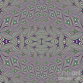 Rose Santuci-Sofranko - Pastels Watercolors Hologram Fractal Abstract