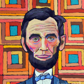 Patchwork Lincoln Orange by David Hinds