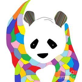 Patchwork Panda by Eloise Schneider Mote