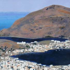 Nigel Radcliffe - Patmos the Habour