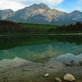 David T Wilkinson - Patricia Lake Reflection